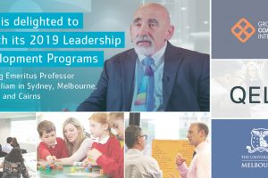 2019 Leadership Programs: collaborations with national & international thought leaders