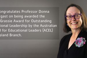 Professor Donna Pendergast, Chair of the QELi Board, recognised for outstanding educational leadership